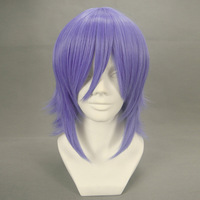 free shipping cosplay hair wig - ike blue purple cos wig 016a hot sale