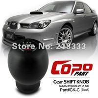 Subaru Impreza WRX STi 6-Speed MT Manual Transmission Black Gear Shift Knob