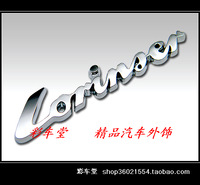 Floats - car sticker - garland - car the mark - delicate emblem - lorinser