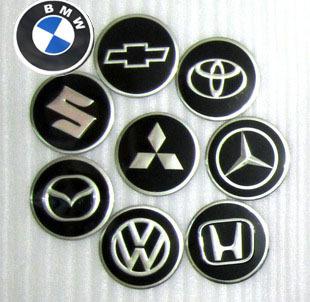 Motorcycle emblem refires accessories metal rim cover aluminum standard(China (Mainland))