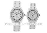 Prosver dani brand Japan movt quartz watch stainless steel back ceramic