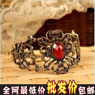 Physick fashion accessories vintage royal gem flower vine flower bracelet