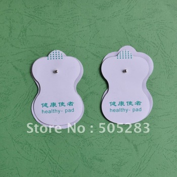 20pcs  white Electrode Pads for Tens Acupuncture,Slimming massager ,Digital Therapy Machine Massager  54x80mm