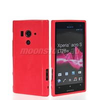 NEW GLITTER SOFT GEL TPU SILICONE CASE COVER FOR SONY XPERIA ACRO S LT26W FREE SHIPPING