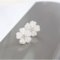 Min Order $20 (mixed order) E2106 stud earring queer accessories star love flower diamond stud earring (KE)