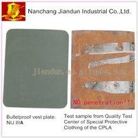 NIJ IIIA bulletproof steel plate,ballistic armor plate,2pcs a lot