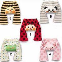Big PP pants baby 100% cotton pants autumn trousers legging cartoon pants air conditioning pants 4