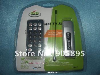 USB 2.0 DVB-T Digital TV HDTV Tuner Receiver Free shipping