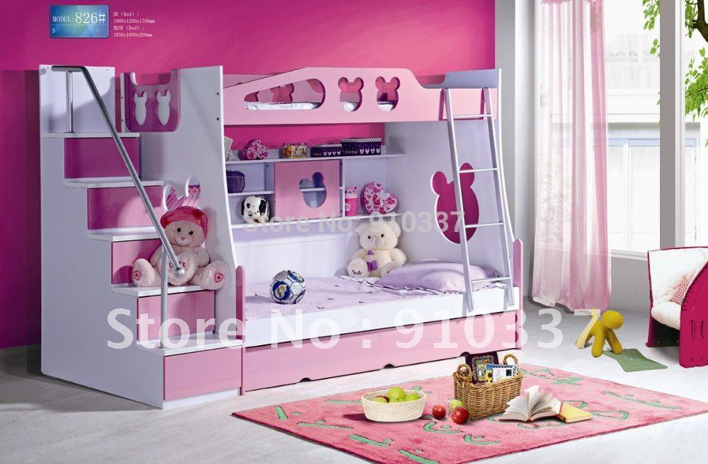 Kids Bunk Beds with Stairs 1000 x 656