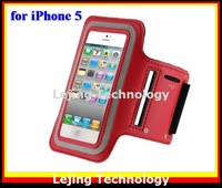 DHL free shipping 50pcs/lot sport armband for iphone 5 pouch bag case for iphone 5 wholesale