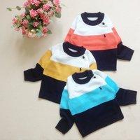 Свитер для девочек 3pcs/lot baby girl's fashion Knitted bottoming shirts/sweater