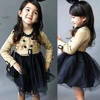 Комплект одежды для девочек 2012 autumn girl's dress set girl's Ball Gown princess dress K006