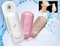 Mini iBeauty Portable Nano Mist Handy Atomization Facial Beautifier Sprayer Facial Steamer Ionic Sprayer Spa 3 colors 10pcs/lot