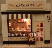 N3 Creative assembled model diy lamp European shop series --Cake love, 1 set