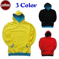 100% Guaranteed Cotton Men's Hoodie Jumpers Simple Blank Design 30pcs / lot Fast Delivery EMS Low Price