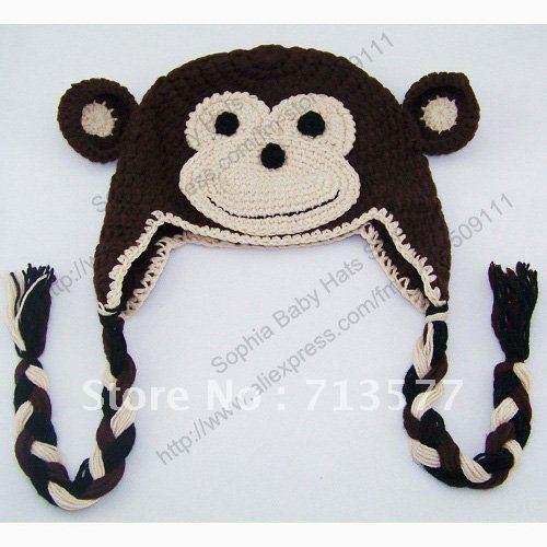 Knitting hats crochet description 4