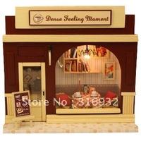 N3 Retail Creative mini diy European shop series--Dense Feeling Moment, Model Building toy