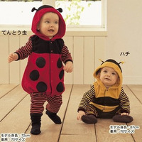 Free shipping Baby clothes baby equipment children's clothing bodysuit romper bee style clothing