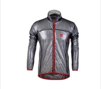 Grey&black Castelli cycling raincoat  /riding raincoat of transparent dust coat waterproof &rainproof&Prevent bask in