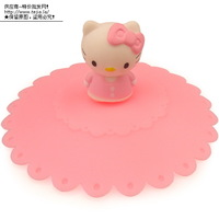 Free shipping 10 hello kitty lid HELLO KITTY three-dimensional lid