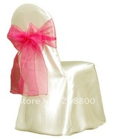satin universal chair cover for wedding...