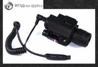 Wholesale-5pcs Vector Optics Pistol Red Laser & LED FlashLight Combo Sight M6 Weapon Light 200 Lumens