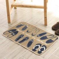 PROMOTION !FREE SHIPPING!Sweet Bathroom Absorbent Floor Mat Door Mat Carpet Mats Non-slip Pad