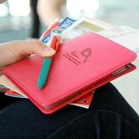 Testificate bag short design multifunctional travel passport holder passport cover wallet