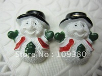 Free shipping,20pcs/lot, Flat back resin Christmas gift for hair &cell phone deceration