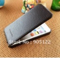 New arrival PCARO duke leather case for  iphone 5, filp genuine leather case for iphone 5 freeshipping