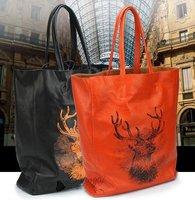 Shanai Genuine leather  women woman  briefcase handbag travel  shopping shoulder  bag JX0032-185