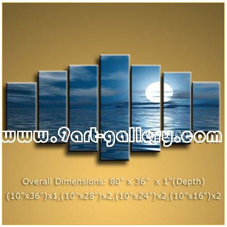 Online kopen wholesale oceaan schilderijen zeegezicht uit china oceaan schilderijen zeegezicht - Eigentijdse muur ...