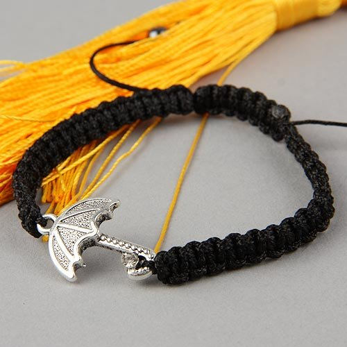 "New Arrival Punk Rock Multilayer Hand-Woven Umbrella Shape Pendant Bracelet ""$5 off per $50 order""(China (Mainland))"