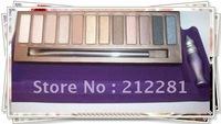 2012 Factory Direct! 1 Pcs New Arrival  12 Colors Eyeshadow & Primer Palette! a860