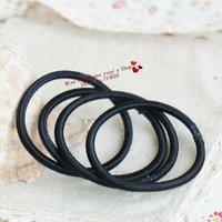 Pony high elastic,high quality headbands/Elastic hairband/Hair accessories/Headwear.Black.Mix order.Hot sale.Wholesale.TWB16M200