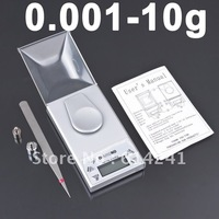 0.001g  10g Digital Electronic Jewelry Diamond weighing Scale 10pcs wholesale
