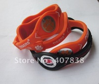 freeshipping,power force NCAA New Teams bands of south carolina gamecocks,CLEMSON TIGERS,300pcs/lot
