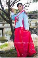 South Korea royal dress dance performance clothing traditional Korean women's national costumes