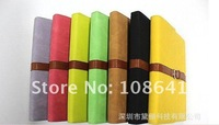 40pcs Genuine Leather Cases leather cover protector for ipad2 ipad3 with retail box