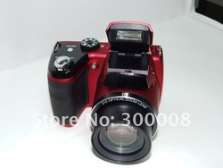 Free shipping cameras fotograficas with SONY 16mp sensor and 21x optical zoom,3.0&quot; TFT LCD,professional and reliable(China (Mainland))
