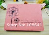 new high quality leather case cover stand for ipad2 ipad3
