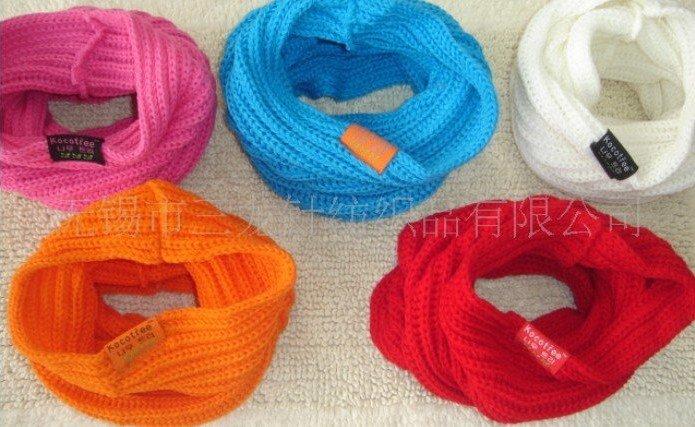 Как связать детский шарф хомут