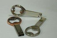 Free shipping Key Shape USB Flash drives Key metal USB flash memory