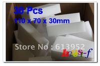 Free Shipping 30Pcs BIG MAGIC SPONGE ERASER CLEANING MELAMINE FOAM CLEANER 110 X 70 X 30MM
