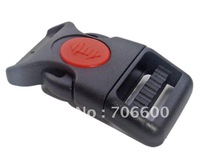 Free Shipping!100pcs per lot,1 inch Plastic side release lock buckles,high quality,wholesale bag accessories