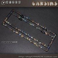 SWAROVSKI license plate frame / diamond license plate frame/  luxury license plate frame