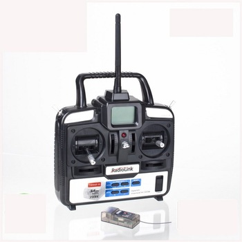Free shipping RadioLink T6EHP Digital 2.4Ghz 6CH radio transmitter System for rc model Transmitter + Receiver