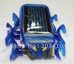 Fashion Mini Solar Powered Bionic Rover Solar Energy-saving Car Education Toys free EMS 50pcs/lot(Hong Kong)