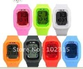 2012 10colors swatchs New style Fashion touch watch,touch screen led watch plastic luminous shhons sport watch freeshipping