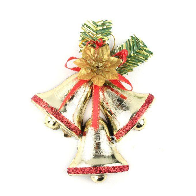 2012 New Year Jingle Bells Christmas Tree Decorations